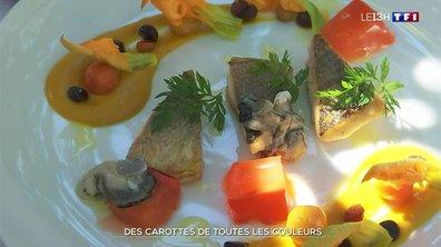Légumes de saison : la passion des carottes d'un chef du Var