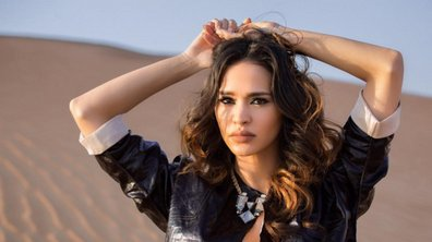 Leila Ben Khalifa, irrésistible lors d'un shooting photo