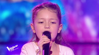 "The Voice Kids 2020 - Demi-Finale : Lena chante ""Les choses simples"" de Jenifer & Slimane (Team Jenifer)"