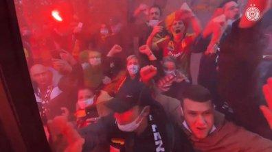 VIDEO - La FOLIE dans les rues lensoises avant le derby