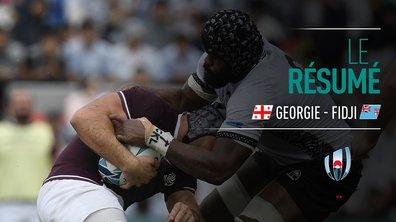 Géorgie - Fidji : Voir le résumé du match en vidéo