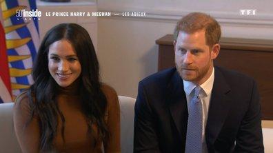 Les adieux du prince Harry et Meghan Markle à la famille royale