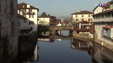 Les Basques profitent d'une journée printanière