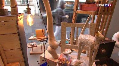 Les boutiques éphémères permettent aux petits artisans d'exposer durant les fêtes