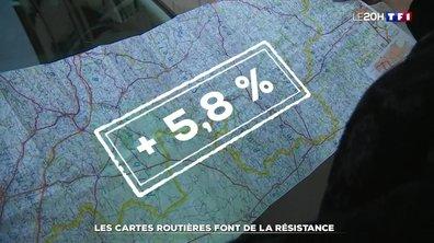 Les cartes routières font de la résistance