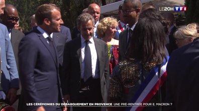Les cérémonies du débarquement en Provence : une pré-rentrée pour Emmanuel Macron ?