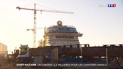 Les chantiers de Saint-Nazaire ont réussi leur transformation