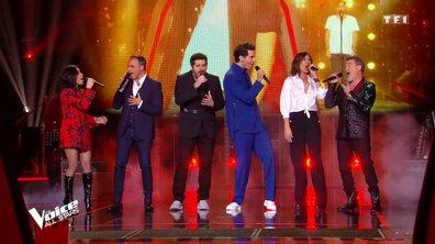 """The Voice All Stars - Les coachs chantent """"Place des grands hommes"""" de Patrick Bruel"""