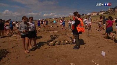 Les concours de sculptures de sable font florès à Saint-Michel-Chef-Chef