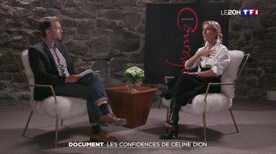 Les confidences de Céline Dion