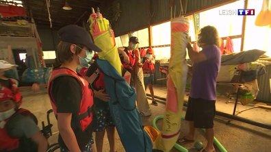 Les enfants en colonie de vacances à Biscarrosse s'éclatent loin des parents