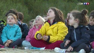 Les enfants s'éclatent en classe verte à Quiberon