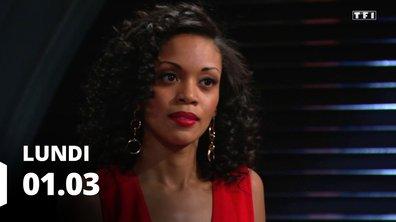 Les feux de l'amour - Episode du 1 mars 2021