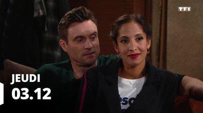 Les feux de l'amour - Episode du 3 décembre 2020