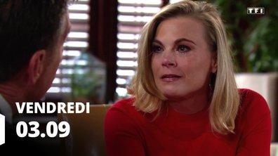 Les feux de l'amour - Episode du 3 septembre 2021
