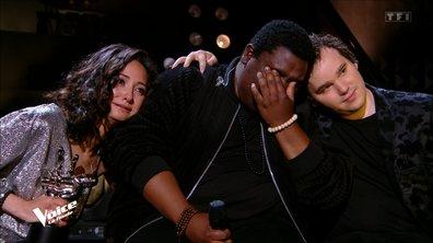 The Voice 2021 – Les finalistes en larmes en écoutant le titre de Mentissa (Finale)