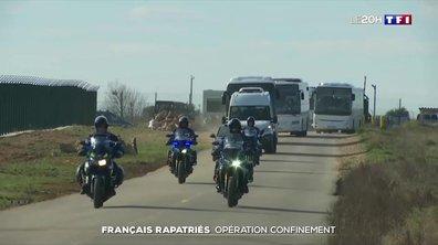 Les Français rapatriés de Chine placés à l'isolement dans le sud de la France