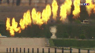 Les Grandes Eaux de Versailles font leur retour avec un spectacle pyrotechnique à succès