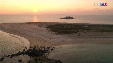 La plage d'Houat