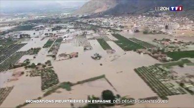 Les images des dégâts causés par les inondations meurtrières en Espagne