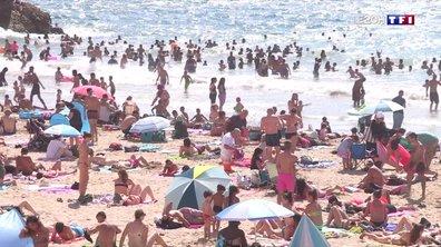 Les jeunes à l'assaut des plages de Marseille
