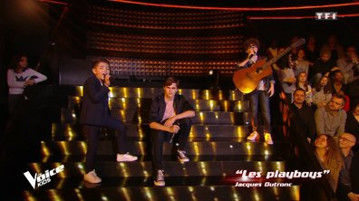 The Voice Kids - Battle -  Les Jeunes Canailles chantent « Les Playboys » de Jacques Dutronc