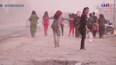 Les Kurdes bombardés par les Turcs