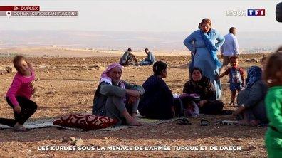 Les Kurdes sous la menace de l'armée turque et de Daech