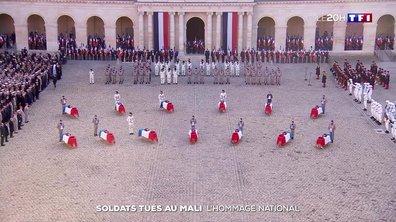 Les moments forts de l'hommage national aux treize soldats morts au Mali