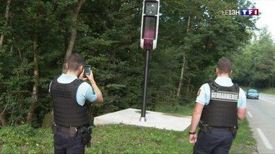 Les nouveaux radars, victimes d'actes de vandalisme
