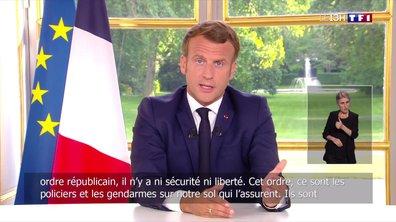 Les paroles d'Emmanuel Macron n'ont pas apaisé la colère des policiers