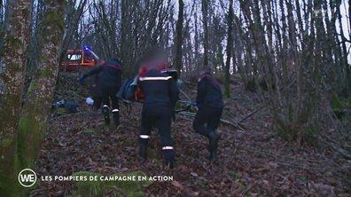 Les pompiers de campagne en action - Les docs du week-end