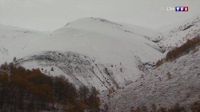 Les premiers flocons de neige sont tombés en Isère