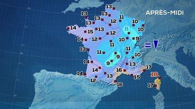 Les prévisions météo du JT de 13 heures du 15 octobre 2020
