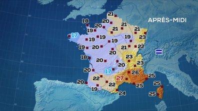 Les prévisions météo du JT de 13 heures du 18 juin 2020
