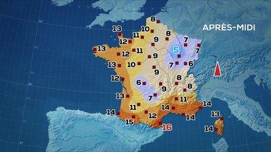 Les prévisions météo du JT de 13 heures du 7 janvier 2020