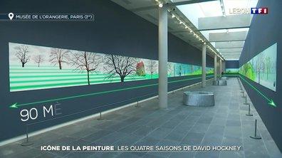 Les quatre saisons de David Hockney