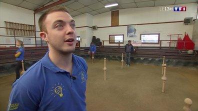 Les quilles de neuf, un sport atypique qui attire les jeunes