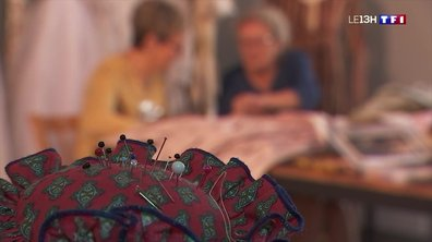 Les réparateurs d'objets anciens (4/4) : les vêtements d'autrefois renaissent grâce aux couturières de Pernes-Les-Fontaines