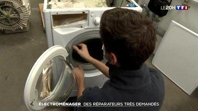 Les réparateurs très demandés dans le secteur de l'électroménager