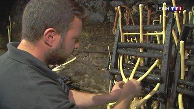 Les secrets de fabrication des fourches en bois de micocoulier de Sauve