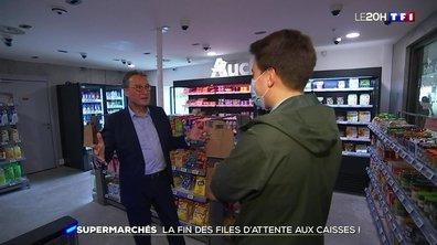 Les supermarchés sans caisse débarquent en France