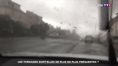Les tornades sont-elles de plus en plus fréquentes ?