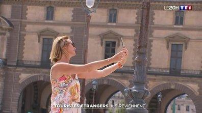 Les touristes étrangers de retour ?