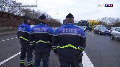 Les transporteurs routiers organisent des opérations blocages