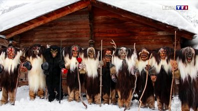 Les Tschäggättä, une tradition valaisanne du Lötschental