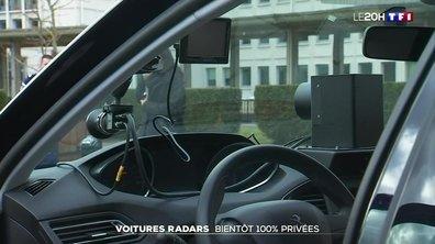 Les voitures-radars privées se déploient