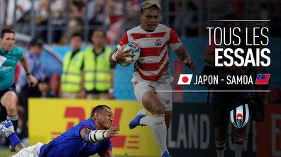 Japon - Samoa : Voir tous les essais du match en vidéo