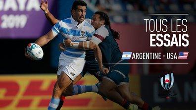 Argentine - USA : Voir tous les essais du match en vidéo