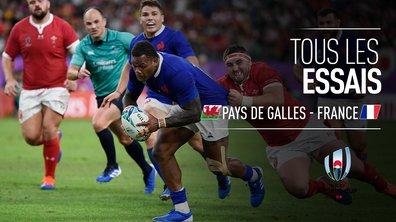Pays de Galles - France : Voir tous les essais du match en vidéo